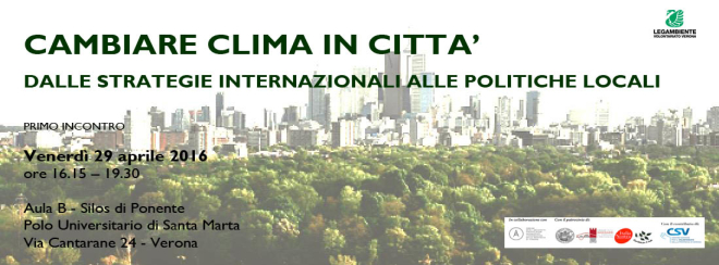 Cambiare Clima in Citta'