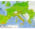 Erosione: la mappa dell'Europa a rischio