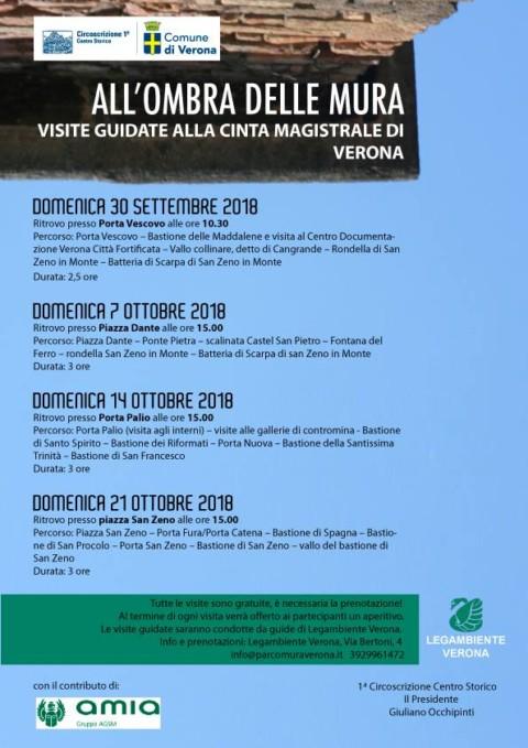 All'ombra delle mura – Visite guidate alla cinta magistrale di Verona