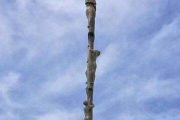 croce sul monte baldo astile 18 metri